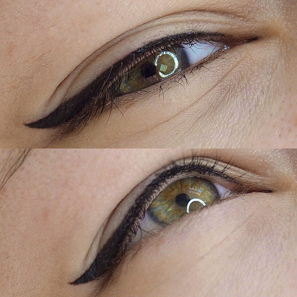 Перманентный макияж глаз в Иваново.