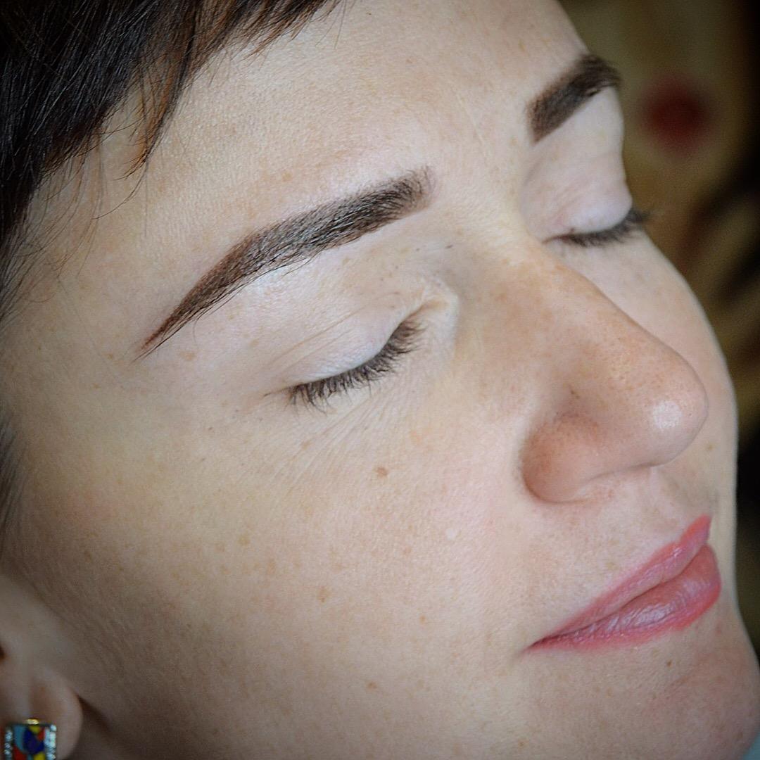 Качественный перманентный макияж бровей в Иванове
